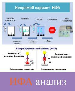 Методика ифа на гепатит в