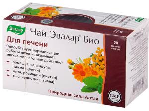 Эвалар таблетки для печени