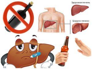Что будет если при гепатите а пить пиво